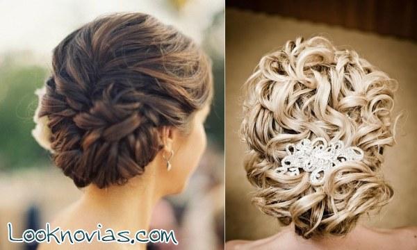 Preciosos peinados para novias