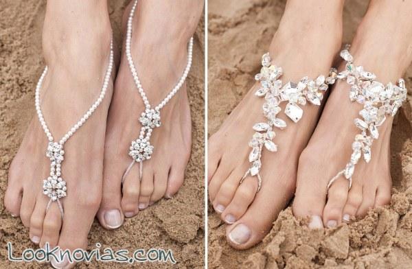 Si te casas en la playa, no te pierdas estas sandalias