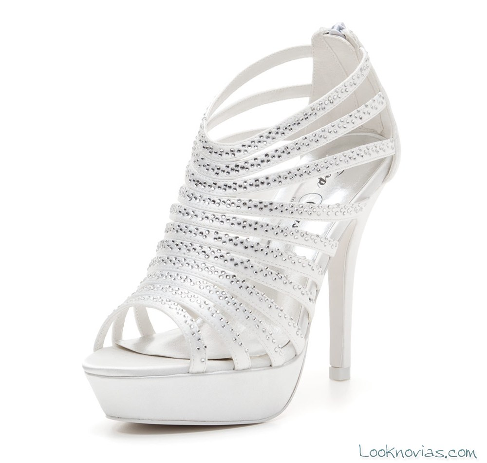 sandalias de estilo botín para bodas
