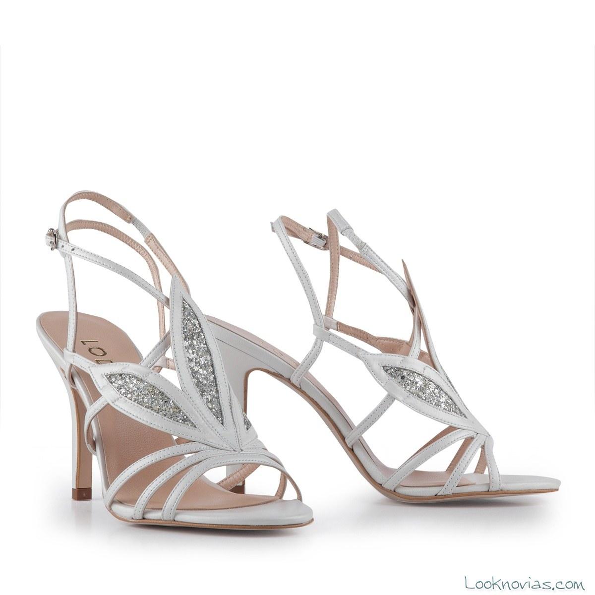 sandalias de novia lodi