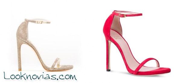 Zapatos para invitadas de Stuart Weitzman a todo color