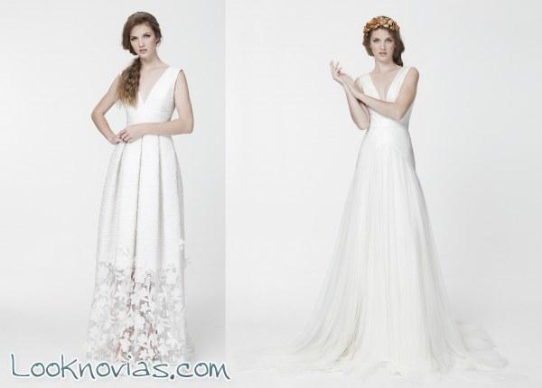 Nuevos y originales vestidos de Santos Costura