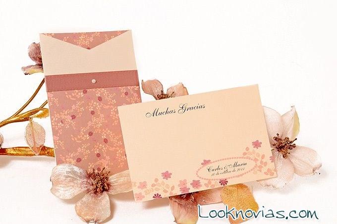 sobres para boda bohemia