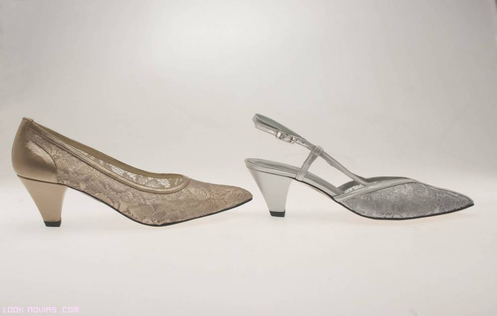 zapatos de corte salón para bodas