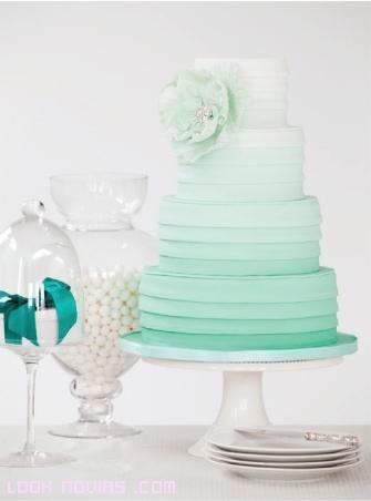pasteles románticas para bodas
