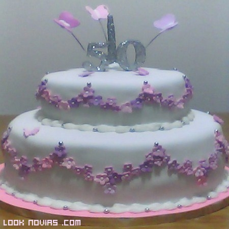 tarta moderna aniversario