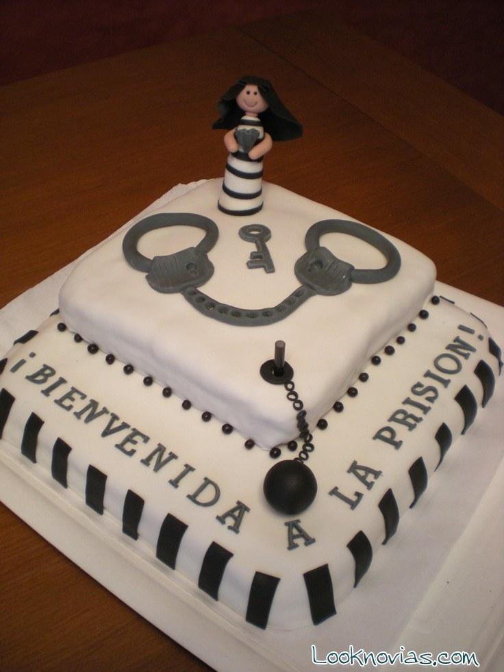 tarta despedida cárcel