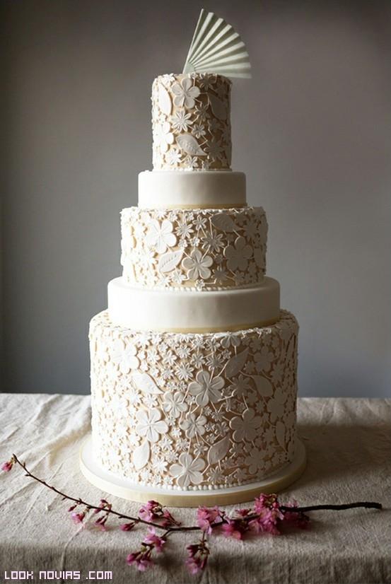 tartas decoradas con merengue