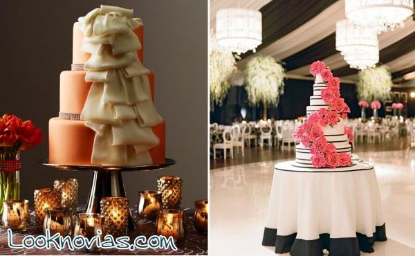 Cuatro tartas originales y preciosas