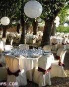Cuatro ventajas para celebrar bodas en jardínes