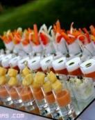 Buffet veraniego en tu boda