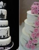 Tartas de boda con fondant
