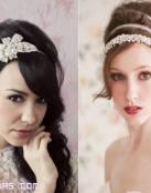 Diademas con toque vintage para novia