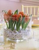 Centros de mesa en cristal, los más usados