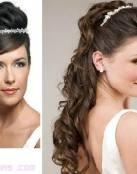 Ideas de peinados para llevar tiara