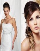 Peinados con tupé para novias e invitadas