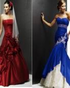 Significado de los colores en los vestidos de novia