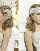 Accesorios de pedrería para el cabello de la novia