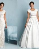 4 Vestidos de novia Modest