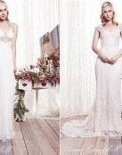 Anna Campbell y sus joyas hechas vestidos de novia