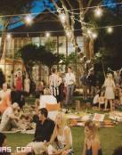 Un banquete diferente al aire libre