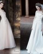 Vestidos delicados y naturales de Alberta Ferretti