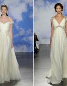 Jenny Packham confía en las novias con estilo retro