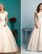 4 trajes de novia Allure Modest