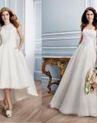 Las novedades más románticas en forma de vestidos