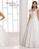 No te pierdas esta colección de novia Regina Bianca