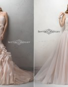 Sottero and Midgley y sus vestidos con pinceladas de color