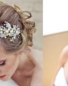 Peinados de novia con diademas