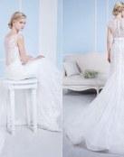 Increíbles escotes en los vestidos para novias