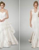 Originales y románticos vestidos para novia