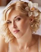 Media melena para las novias más modernas