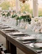 Tres ideas de mesas elegantes para tu enlace