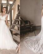 Novedades en los vestidos de novia de Karen George