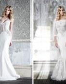 Sensualidad en las novias Pallas Couture