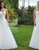 Nueva colección de vestidos de novia Sweetheart