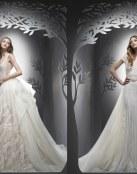 6 vestidos para novias que se casen en otoño o invierno