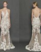 Francesca Miranda elige los vestidos de novia rectos