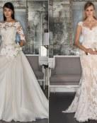 Una colección romántica y otoñal para novias