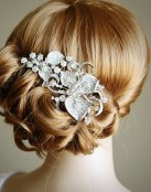 Tres peinados de novia muy elegantes