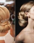 Recogidos clásicos y elegantes para novia