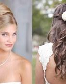 Peinados para novias jóvenes