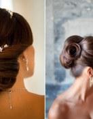 4 recogidos para las novias más elegantes