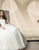 Vestidos para novias con mucho glamour