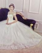 Nuevos vestidos románticos para novias