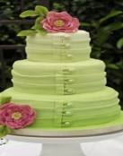 Tartas de boda en colores degradados