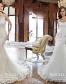 Novedades en los increíbles vestidos de Sophia Tolli